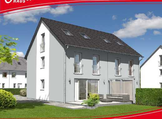 Doppelhaushälfte mit großem Grundstück