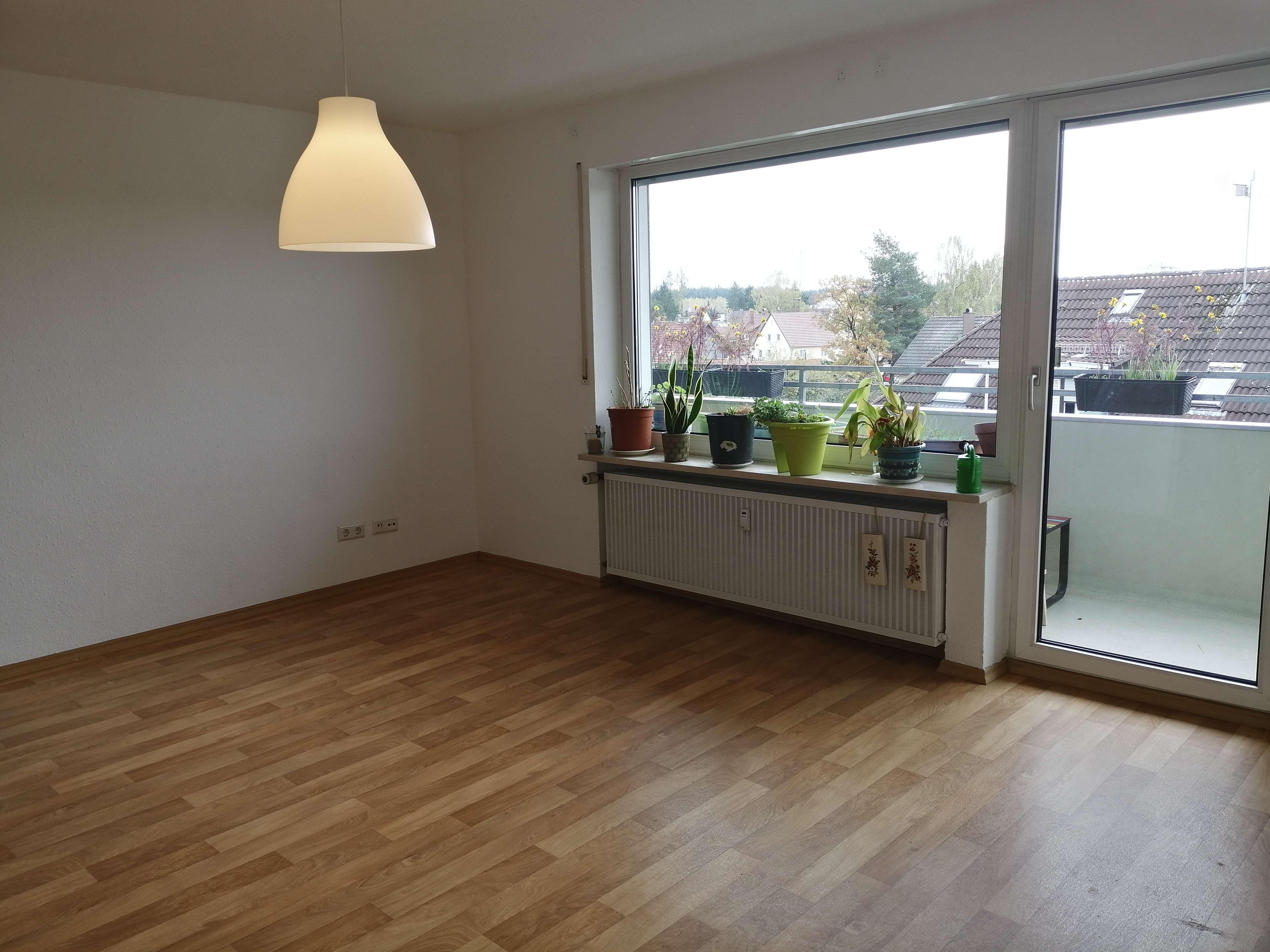 Sehr Helle 3-Zimmerwohnung, zentral gelegen mit niedrigen Nebenkosten in Neugablonz (Kaufbeuren)