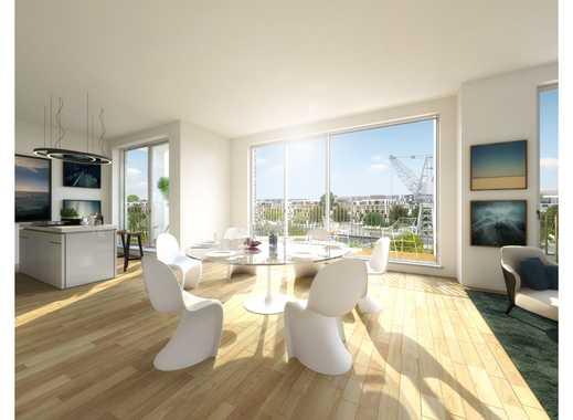 Moderner Grundriss und gehobene Ausstattung: 2-Zimmer auf ca. 86 m² mit Loggia