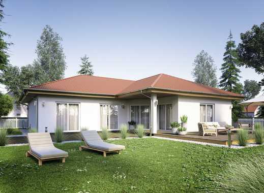 Oberhalb der Stadt Kemberg auf 850 m² Grundstück ein Winkelbungalow mit 149 m²