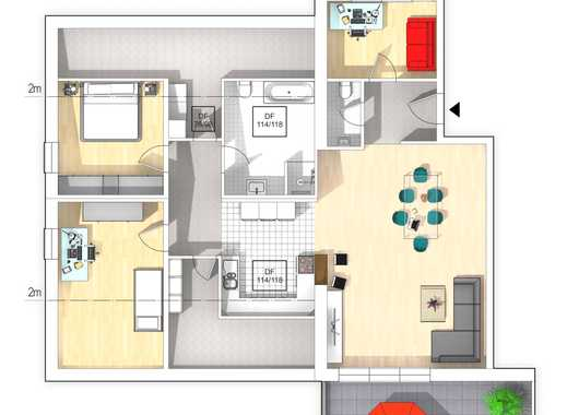 Neubauwohnung, Penthouse, nähe Zentrum, provisionsfrei