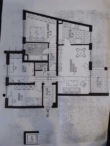 Wohnung mit Charme! 4-Zimmer-Wohnung mit Balkon für gemütliche Abende in Augsburg in Augsburg-Innenstadt