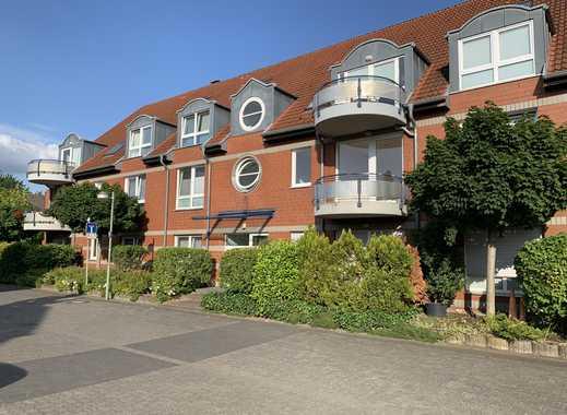 Stilvolle, modernisierte 2-Zimmer-Erdgeschosswohnung mit Terrasse und EBK in Meerbusch