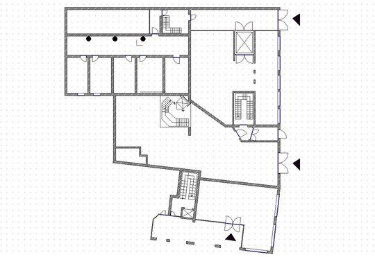 Umbauvorschlag Büroräume