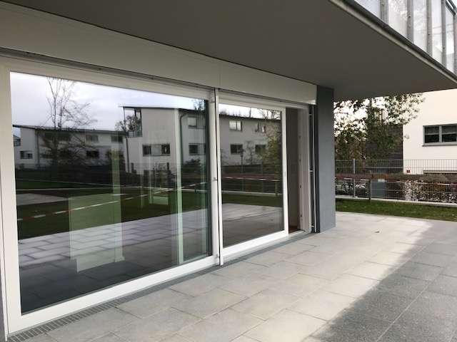 Erstbezug mit EBK: exklusive 2-Zimmer-Erdgeschosswohnung in Freising in Freising