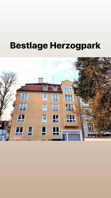 Helle Dreizimmerwohnung - in Bestlage Herzogpark in Bogenhausen (München)