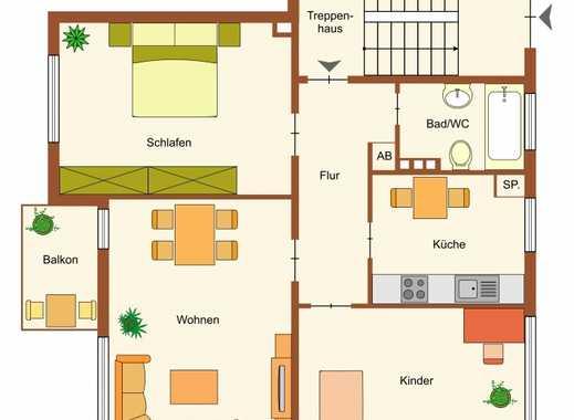 Vermietete Erdgeschosswohnung in Wilhelmshaven - Heppens zu verkaufen Sichern Sie sich Rendite!