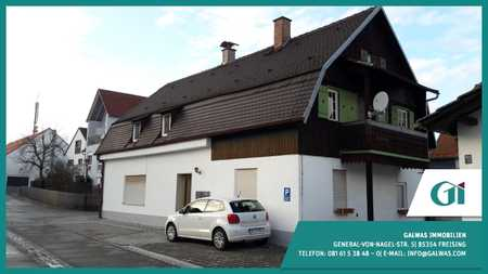 GI** Marzling 4-Zi.-Wohnung mit historischen Holzzimmer in Freising