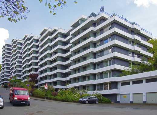 Zentrumsnah und doch im Grünen wohnen, Wuppertal-Elberfeld, Terrassenwohnhaus Friedenshöhe