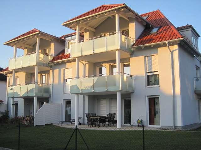 Modern ausgestattete 3-Zi-Wohnung mit großem Südbalkon in Großinzemoos.PROVISIONSFREI!!