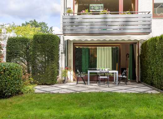 Garten! WG geeignet! 90 m² voll möbliert! Direkt am Wandsbeker Gehölz!!