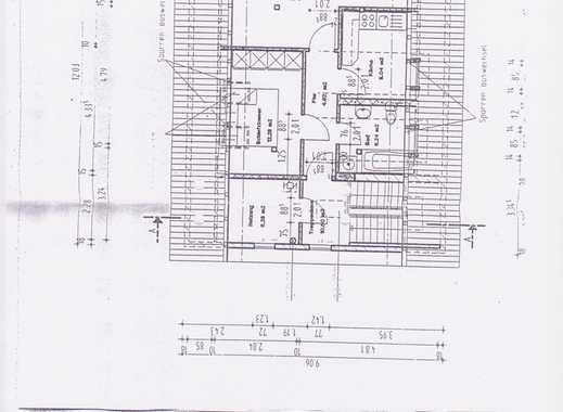 Schöne, gepflegte 2-Zimmer-Dachgeschosswohnung zur Miete in Schmalkalden