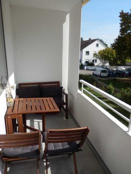Freundlich helle 3-Zimmer-Wohnung mit Balkon in Ingolstadt-Oberhaunstadt in Oberhaunstadt (Ingolstadt)
