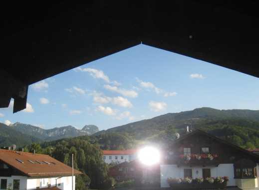 Gemütlich Wohnen im Zentrum mit Wendelsteinblick, aber kein Balkon