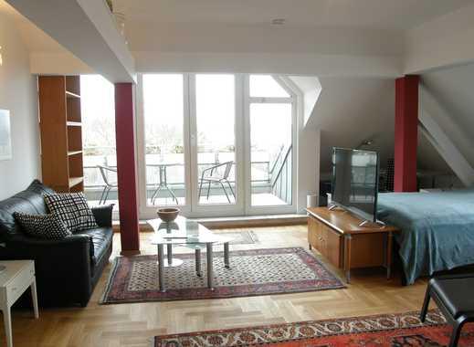 Möbiliertes Apartment mit Rheinblick