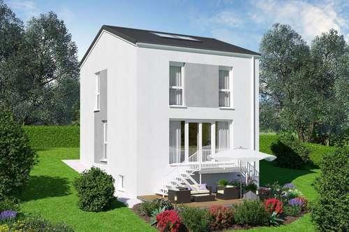 Ziegelmassives Einzelhaus mit Vollunterkellerung und Traumgarten. Herrliche Aussicht! TÜV-Austria baubegleitet!