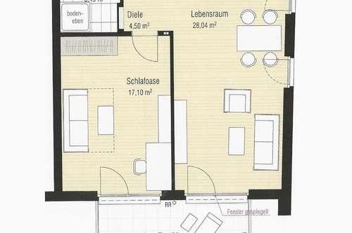 PROVISIONSFREI! Helle 2-Zimmer-Wohnung in Arzl mit schöner Aussicht