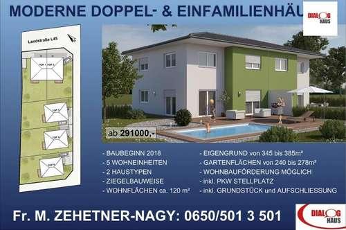 TOP modern - ruhig und zentral gelegen - Haus mit Garten