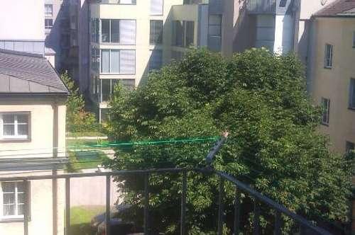 Drei Zimmer Mietwohnung in der Linzer Innenstadt inkl. Balkon