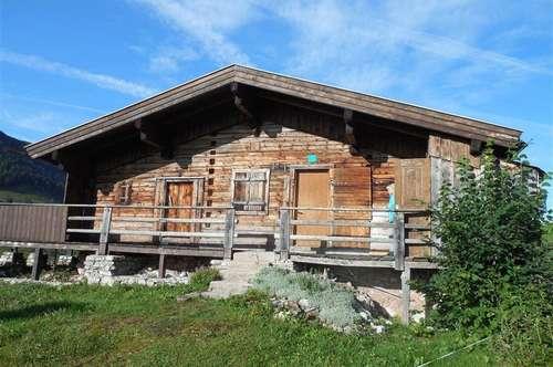 Berghütte in sagenhafter Lage auf 1.400m Höhe - Nähe Landl/Bayrischzell