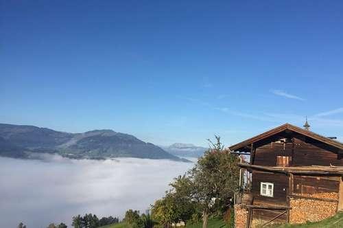 Berghütte in unglaublicher sonniger Alleinlage - Nähe Skigebiet Westendorf/Großraum Kitzbühel