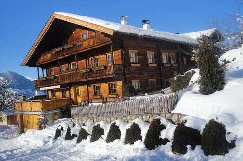 Große Wohnung im Bauernhaus in traumhafter Lage mit Bergblick - Nähe Skigebiet Fügen