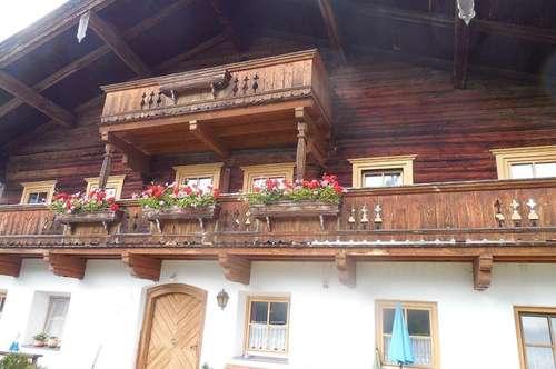 Gemütliche Wohnung in wunderschöner Lage im Bauernhaus als Zweitwohnsitz/Ferienwohnsitz - Nähe Skigebiet Steinplatte Waidring