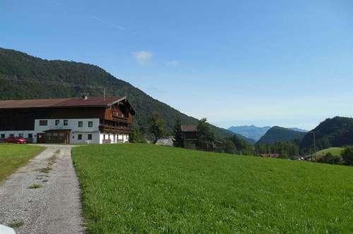 Großes Bauernhaus in wunderschöner Lage mit See - und Bergblick - Nähe Thiersee