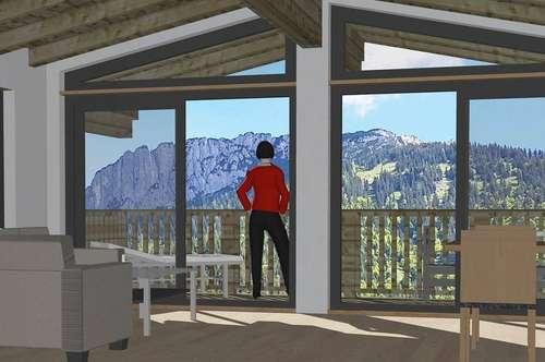Nahe Kirchdorf in Tirol - der Traum vom Chalet in den Bergen in unverbaubarer Lage
