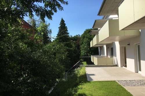 Nahe MedCampus/LKH: Neue, sonnige Single- oder Pärchenwohnung mit großer Terrasse