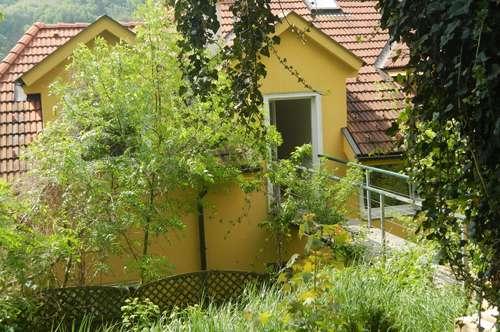 Maissonette mit Garten