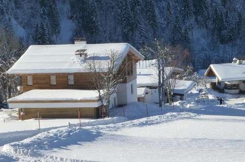Exklusives Berghaus in herrlicher Aussichtslage mitten in dem Kitzbüheler Skigebiet zu vermieten