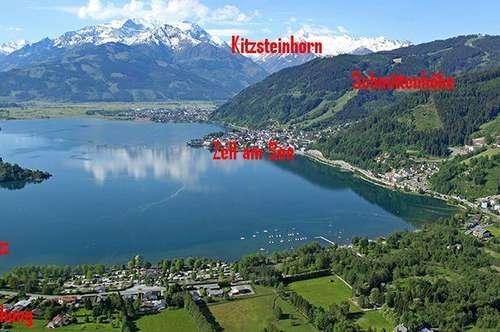 Ferienwohnung mobliert Zell am See mit privatem Badeanteil am See