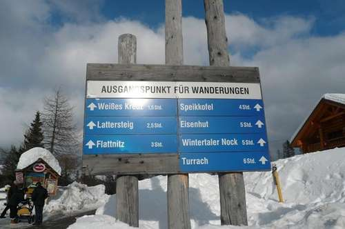 FERIENWOHNUNG im schönsten Wander- und Skigebiet Kärntens