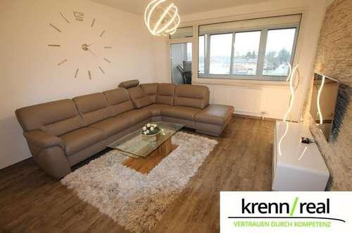 Generalsanierte Eigentumswohnung mit Loggia und Garage