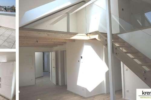 Moderne Maisonette Wohnung mit allgemeiner Dachterrasse