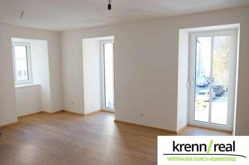 Attraktive 2 Zimmer Wohnung mit französischen Balkon und Lift