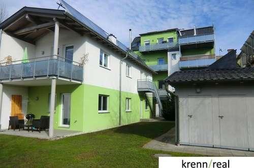 Helle 2 Zimmer Wohnung mit Balkon und Gartennützung