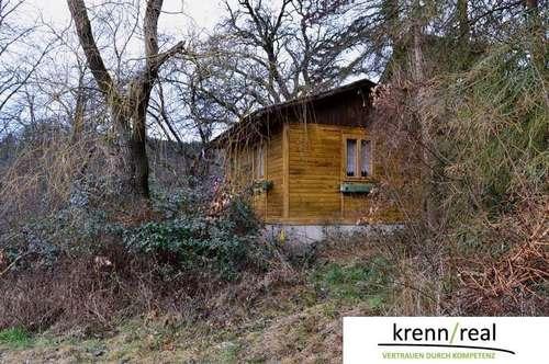 Sanierungsbedürftiges Wochenendhaus mit großem Grundstück