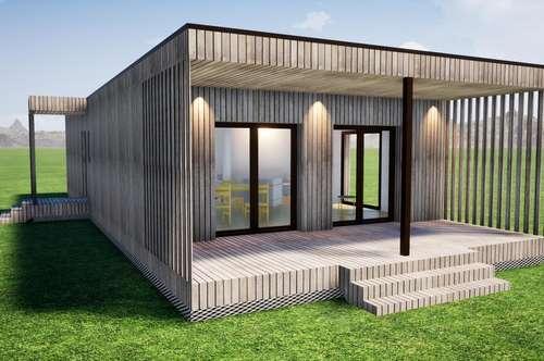 Modulares Fertighaus - Home 1000, bezugsfertige Ausstattung, ab Werk