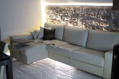 Moderne Wohnung mit Bergpanorama