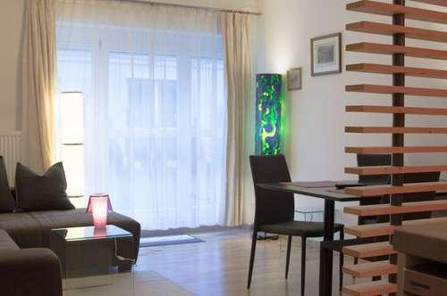 Appartement mit Garten