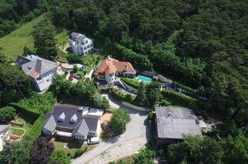 Hinterbrühler Familien Villa mit eigenem Waldzugang (!) Pool (!) und Traum Aussicht!