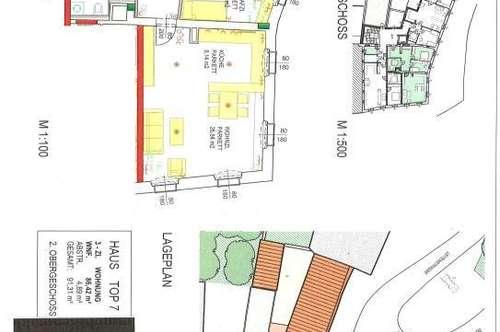 Günstige   87m²Wohnung im Zentrum von Lambach