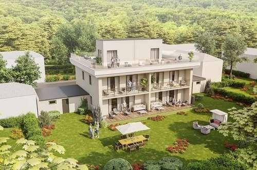 Maisonette Wohnung inkl. Dachterrasse und  Gartenanteil mit SEEBLICK und SEEZUGANG