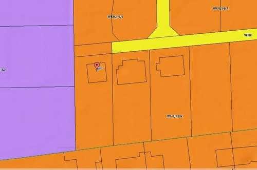 Provisionsfrei für den Käufer!  909 m² Grundstück  WR 0,3 - 0,6 mit Einfamilienhaus in Graz -West !!!