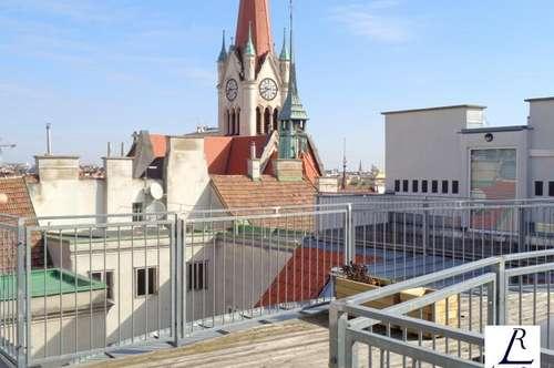 Jugendstil/ Schöne Maisonette Wohnung mit Wienblick/ Terrasse!