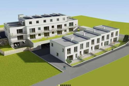 Hatting - Neubau - Reihenhäuser und Wohnungen