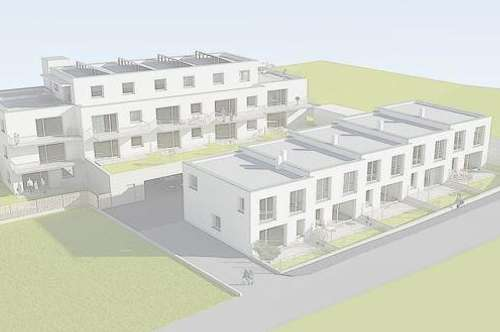 Hatting - Neubauprojekt: Maisonettewohnung mit Garten und Balkon