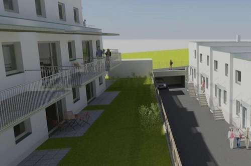 Hatting - Neubauprojekt - 3 Zimmer Gartenwohnung